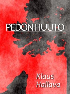 cover image of Pedon huuto