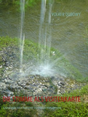 cover image of DIE STIMME ALS VISITENKARTE