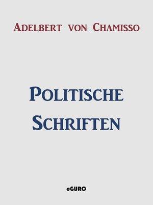 cover image of Politische Schriften