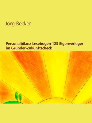 cover image of Personalbilanz Lesebogen 123 Eigenverleger im Gründer-Zukunftscheck