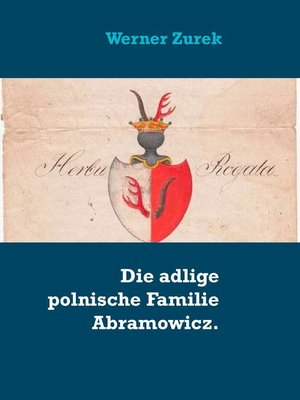 cover image of Die adlige polnische Familie Abramowicz.