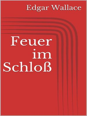 cover image of Feuer im Schloß