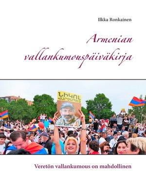 cover image of Armenian vallankumouspäiväkirja