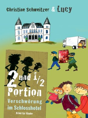 cover image of 2 und 1/2 Portion
