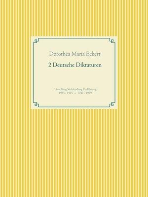 cover image of 2 Deutsche Diktaturen