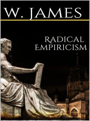 cover image of Radical Empiricism
