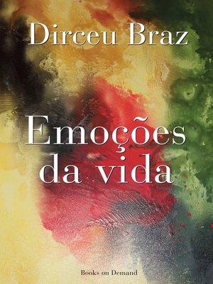 cover image of Emoções  da vida