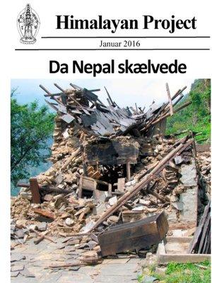 cover image of Da Nepal skælvede (sort-hvid)