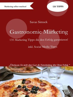 cover image of Gastronomie Marketing