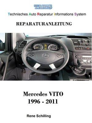 cover image of Taris Reparaturanleitung  VITO