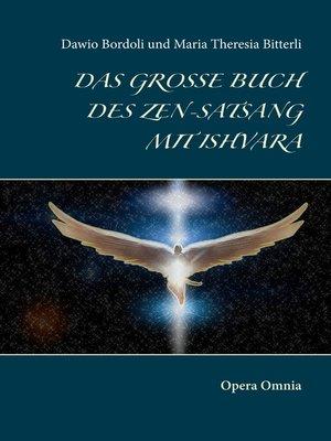 cover image of Das große Buch des Zen-Satsang mit Ishvara