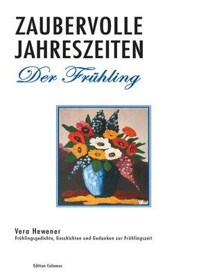 cover image of Zaubervolle Jahreszeiten--Der Frühling