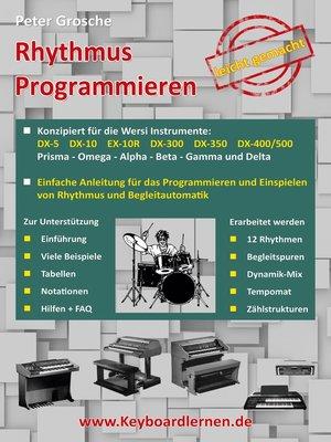 cover image of Rhythmus Programmieren leicht gemacht