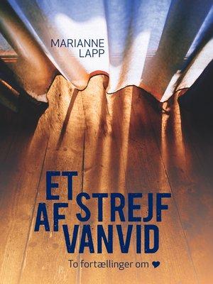 cover image of Et strejf af vanvid