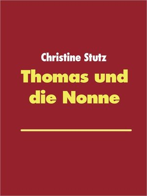 cover image of Thomas und die Nonne