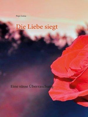 cover image of Eine süsse Überraschung