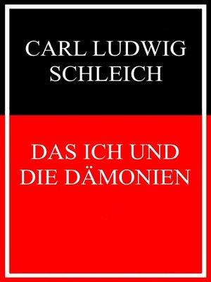 cover image of Das Ich und die Dämonien