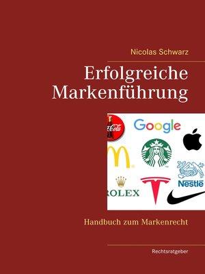 cover image of Erfolgreiche Markenführung