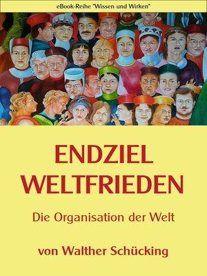 cover image of Endziel Weltfrieden