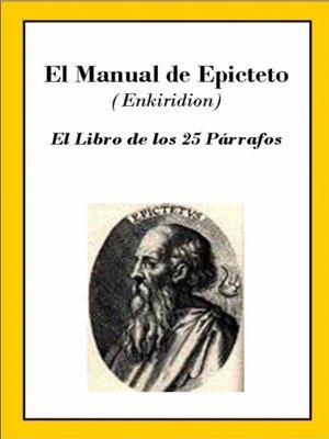 cover image of El Manual de Epícteto