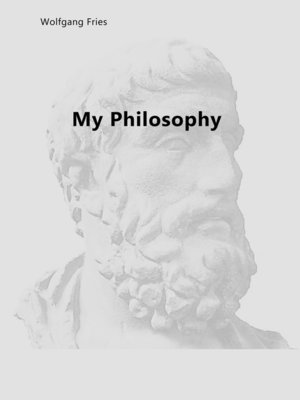 cover image of My Philosophy