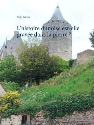 cover image of L'histoire dunoise est-elle gravée dans la pierre ?