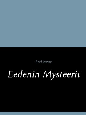 cover image of Eedenin Mysteerit