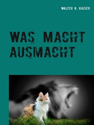 cover image of Was Macht ausmacht