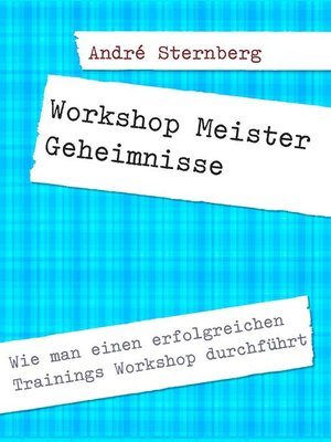 cover image of Workshop Meister Geheimnisse