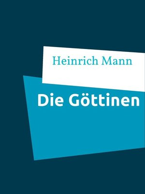 cover image of Die Göttinen