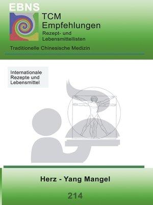 cover image of Ernährung--TCM--Herz--Yang Mangel