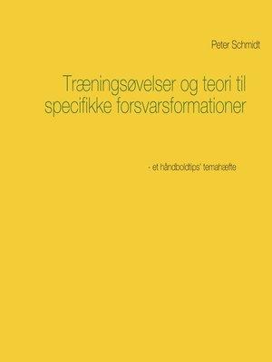 cover image of Træningsøvelser og teori til specifikke forsvarsformationer