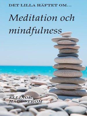 cover image of Det lilla häftet om meditation och mindfulness