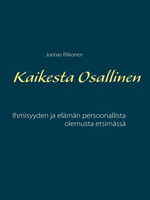 cover image of Kaikesta Osallinen