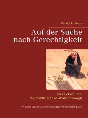 cover image of Auf der Suche nach Gerechtigkeit