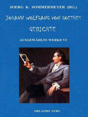 cover image of Johann Wolfgang von Goethes Gedichte