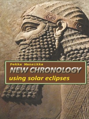 cover image of New chronology using solar eclipses