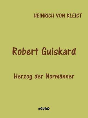 cover image of Robert Guiskard