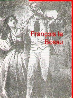 cover image of François le Bossu