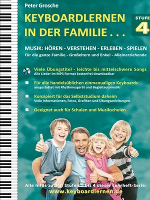 cover image of Keyboardlernen in der Familie (Stufe 4)