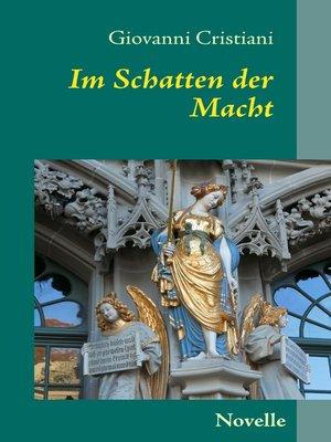 cover image of Im Schatten der Macht