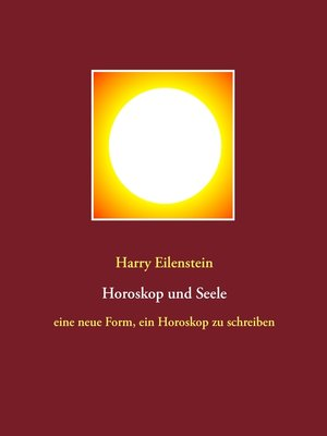 cover image of Horoskop und Seele