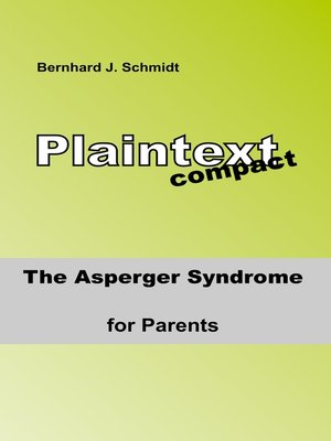 cover image of The ASPERGER Syndrome for Parents