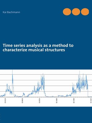 cover image of Time series analysis as a method to characterize musical structures