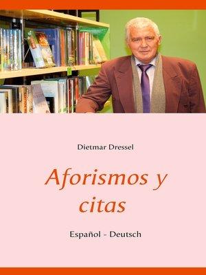 cover image of Aforismos y citas