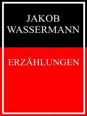 cover image of Erzählungen