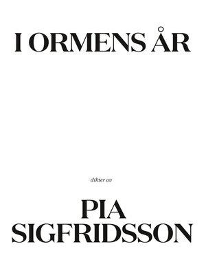 cover image of I ormens år