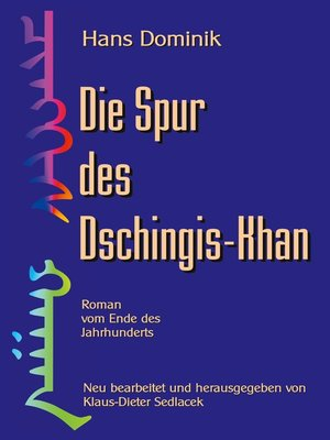 cover image of Die Spur des Dschingis-Khan