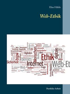 cover image of Web-Ethik