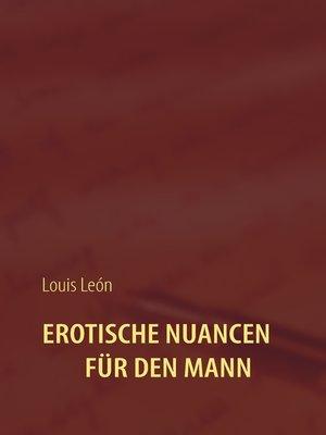 cover image of Erotische Nuancen für den Mann